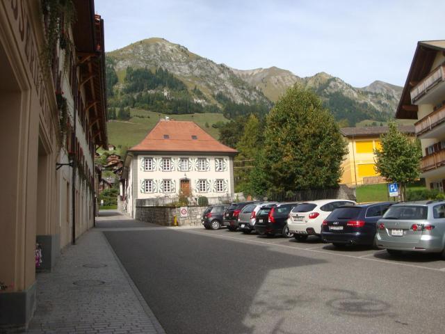 Le village de Chateau d'Oex